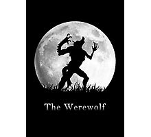 Werewolf at the Full Moon Photographic Print