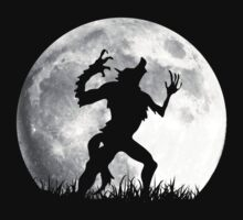 Werewolf at the Full Moon by scottorz