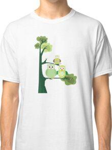 Green Owls Classic T-Shirt