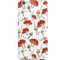 Mushroom Pattern iPhone Case/Skin