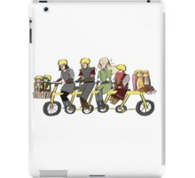 Fellowship bike iPad Case/Skin