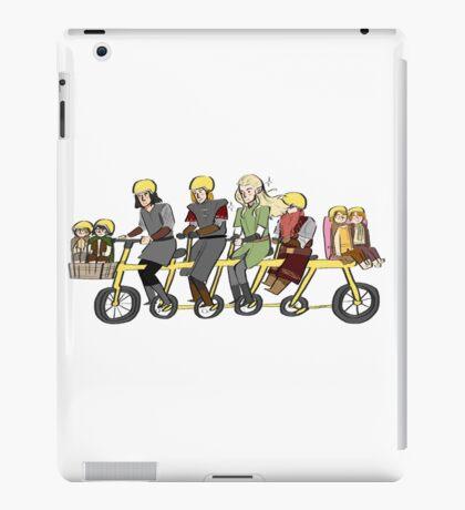 Fellowship bike iPad Case/Skin