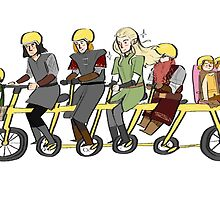 Fellowship bike by Cupcakelogic