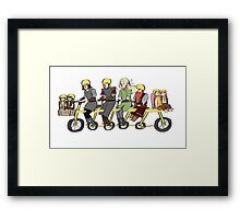 Fellowship bike Framed Print