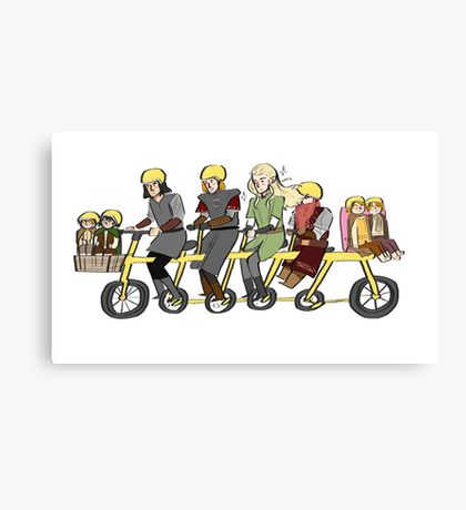 Fellowship bike Canvas Print