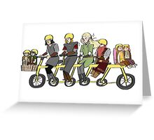 Fellowship bike Greeting Card