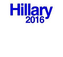 Hillary 2016 II [Blue] Photographic Print