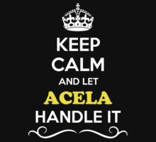Keep Calm and Let ACELA Handle it by robinson30