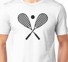 Crossed squash rackets Unisex T-Shirt