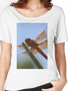 Smiling Dragonfly Iphone Case Women's Relaxed Fit T-Shirt