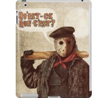 Psycho Killer iPad Case/Skin