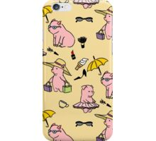 Pig Pattern iPhone Case/Skin
