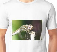 Up Close with a Purple Eyed Dragonfly Unisex T-Shirt