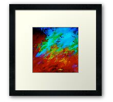 Abstract...The Night Visitors Framed Print