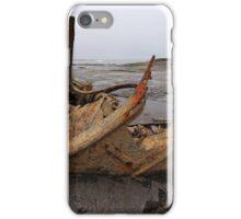 The Wreck Admiral Von Tromp at Saltwick Bay iPhone Case/Skin