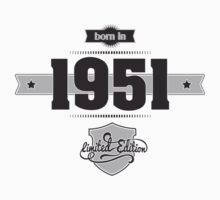 Born in 1951 Kids Clothes