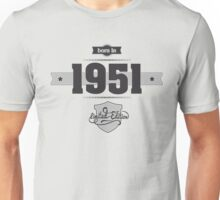 Born in 1951 Unisex T-Shirt
