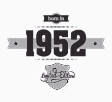 Born in 1952 Kids Clothes
