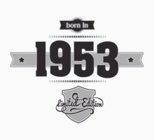 Born in 1953 Kids Clothes