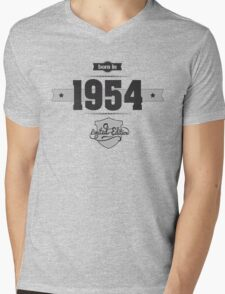 Born in 1954 Mens V-Neck T-Shirt