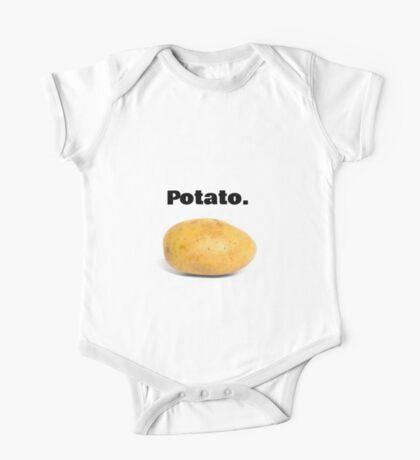 Potato. One Piece - Short Sleeve