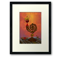 The Wizard's Table Framed Print