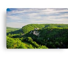 Chateau Bruniquel Canvas Print