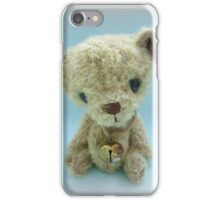 Muffin - Handmade bears from Teddy Bear Orphans iPhone Case/Skin