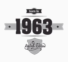Born in 1963 Kids Clothes