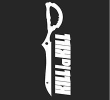 Kill la Kill Scissorblade B/W by MaxiLichtblau