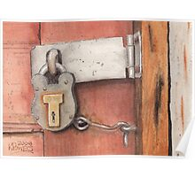 Garage Lock Number Four Poster