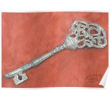 Ornate Mansion Key Poster