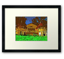 House in Water Framed Print