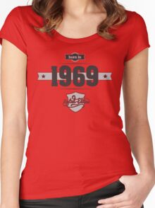 Born in 1969 Women's Fitted Scoop T-Shirt