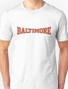 Baltimore Baseball  Unisex T-Shirt