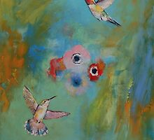 Hummingbirds by Michael Creese