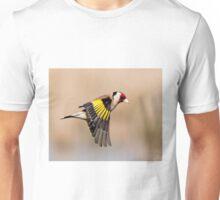 Goldfinch in flight T-Shirt