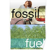 Fossil Fuel Poster
