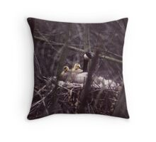 030207-2  THE BABYSITTER Throw Pillow