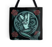 Mermaid and Skull 2 Tote Bag