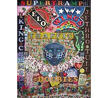Psychedelic Jukebox -  taken from original artwork by Paul Bonser Photographic Print