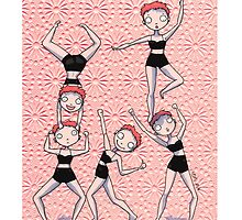 Adorable crazy girls! by burrotees