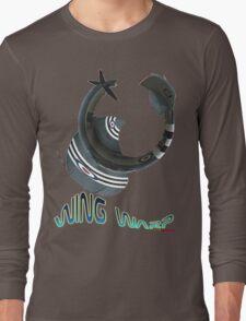 Hawker Sea Fury Wing Warp T-shirt Design Long Sleeve T-Shirt