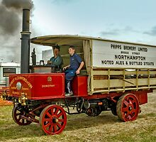 "1900 Thornycroft Steam Brewer's Wagon ""Dorothy"" by Colin Smedley"