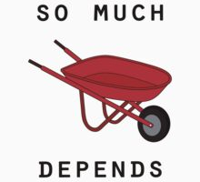 So much depends upon a red wheelbarrow by emilylookshigh