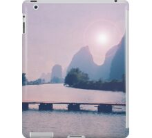 Wooden foot bridge in China iPad Case/Skin