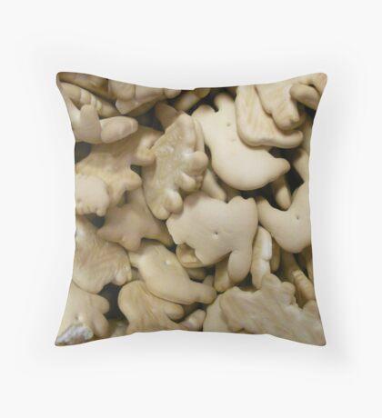 Crunch.  Throw Pillow
