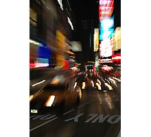 Time Square moves Photographic Print