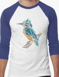 Triangle Kingfisher Men's Baseball ¾ T-Shirt