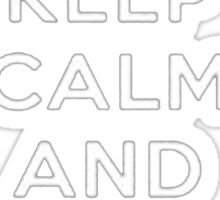 Keep Calm And Main Support - Tshirts & Hoodies Sticker
